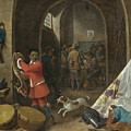 A Guardroom Interior by David Teniers the Younger