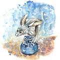 A Hare In Kilburn by Miki De Goodaboom