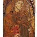 A Holy Bishop by Siena