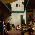 A Jewish Wedding In Morocco by Ferdinand Victor Eugene Delacroix