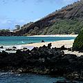 A L O H A  E Ala E Puu Olai Oneloa Big Beach Makena Maui Hawaii by Sharon Mau