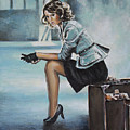 A La Gare by Andy Lloyd