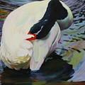 A Lady Bathing by Kelly McNeil