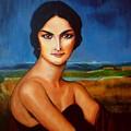 A Lady by Manuel Sanchez