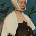 A Lady With A Squirrel And A Starling Anne Lovell by PixBreak Art