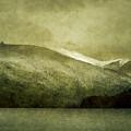 A Lake In Patagonia by Osvaldo Hamer