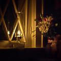 A Lamp In The Window For My Love by Straublund Photography