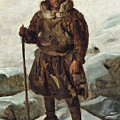A Laplander by Francois-Auguste Biard