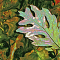 A Leaf On The Pile by Lynda Lehmann