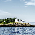 A Lighthouse On The Coast Of Maine by Kay Brewer
