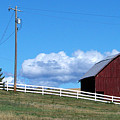 A Lincoln County Barn by Charles Robinson