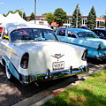 A Line Of Classic Antique Cars 3 by Jeelan Clark
