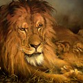 A Lion And A Lioness by Mountain Dreams