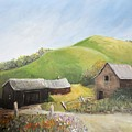 A Little Country Scene by Reb Frost