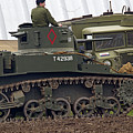 A Little Honey - M3 Stewart Light Tank by Spencer Bush