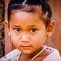A Little Khmer Beauty by Volodymyr Dvornyk