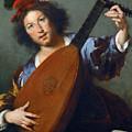 A Lute-player by Bernardo Strozzi