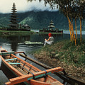 A Magic Moment On The Island Of Bali by Carl Purcell