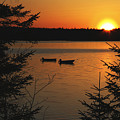 A Maine Sunset by Katie W