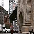 A Man And A Bridge by Aya Edlin
