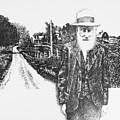 A Man And His Farm by Don Locke