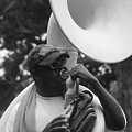 A Man Blows His Horn by Michelle Powell