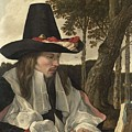 A Man Reading, Anonymous, C. 1660 by Artistic Rifki