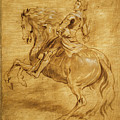 A Man Riding A Horse by Anthony van Dyck