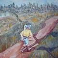 A Man Walking by Joseph Sandora Jr