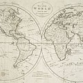 A Map Of The World From The Best Authorities by Paul Fearn