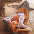 A Mermaid In The Sunset - Love Is Seduction by Marco Busoni