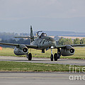 A Messerschmitt Me-262 Replica Taxiing by Timm Ziegenthaler