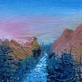 A Mighty River Canyon by Jera Sky