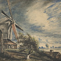 A Mill Near Colchester by John Constable