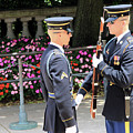 Face To Face During The Changing Of The Guard by Cora Wandel