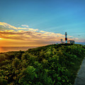 A Montauk Lighthouse Sunrise by Alissa Beth Photography