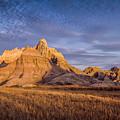 A Morning Badlands Peak by Rikk Flohr