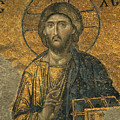 A Mosaic Of Jesus The Christ At St by Tim Laman