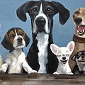 A Motley Crew by June Huff