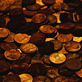 A Mound Of Pennies by Joel Sartore