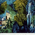 A Mountain Ramble by Currier and Ives - Joy of Life Art