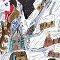 A Mountain Village by Elinor Helen Rakowski