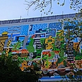 A Mural On The San Antonio Riverwalk by Michiale Schneider