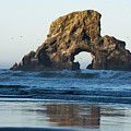 A Natural Arch by Robert Potts