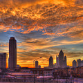 A New Day Atlantic Station Sunrise by Reid Callaway