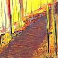 A New Fall Path by Ellen Jenny Watkins