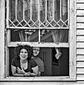A New Orleans Greeting 2 Bw by Steve Harrington