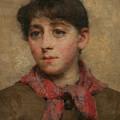 A Newlyn Maid by Elizabeth Adela Stanhope Forbes