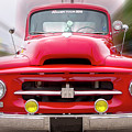 A Nice Red Truck  by Frederic A Reinecke
