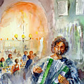 A Night At The Tavern by Faruk Koksal